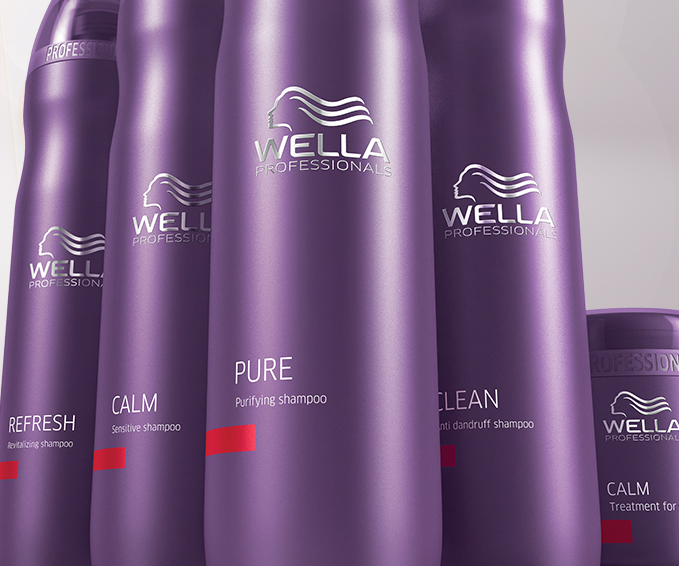 Wella Balance group packshots